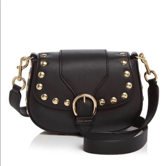 Marc By Marc Jacobs Handbags - Marc Jacobs Studded Navigator  Crossbody bag